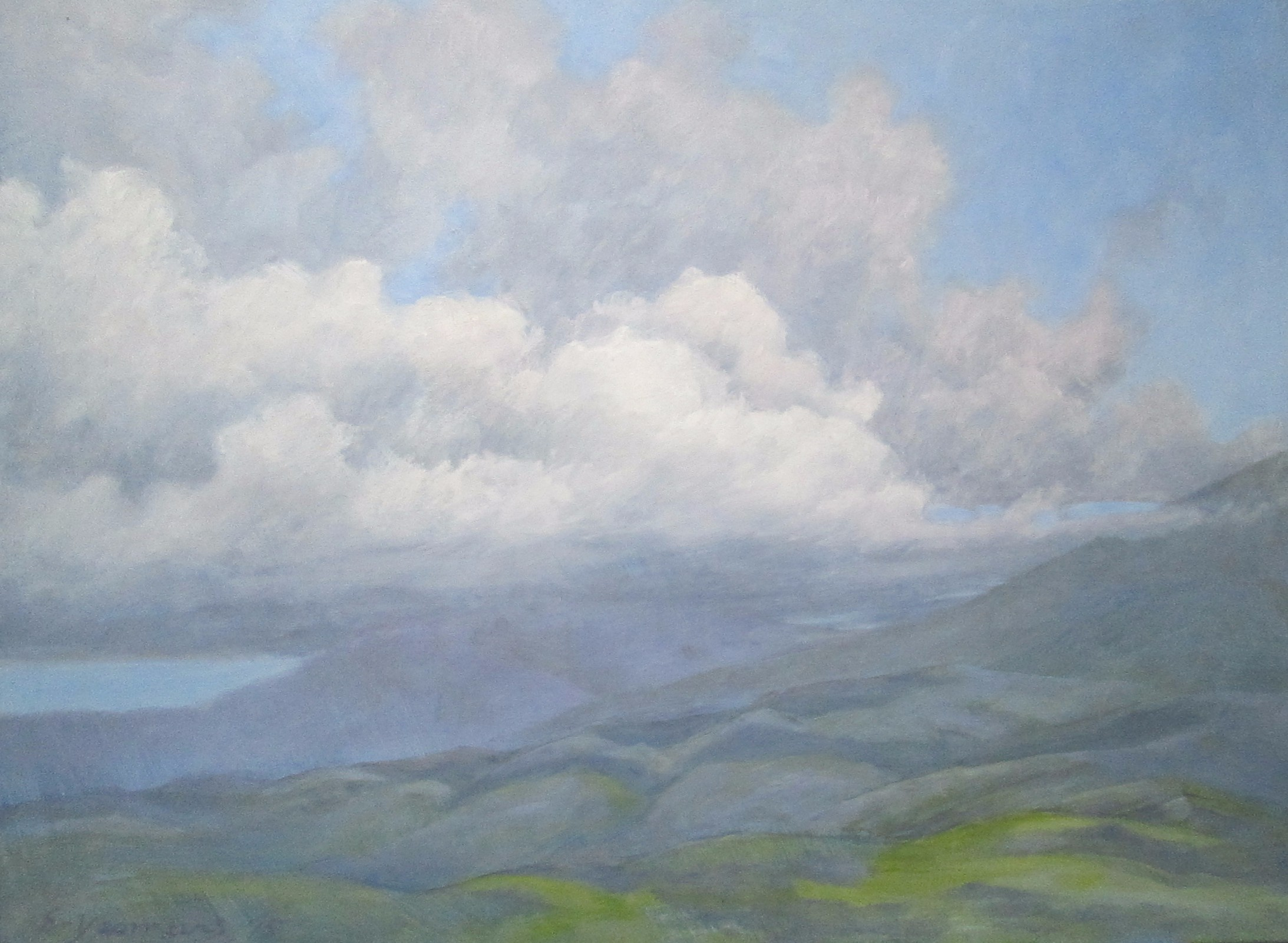 Ellen Yeomans – SCUDDING CLOUDS