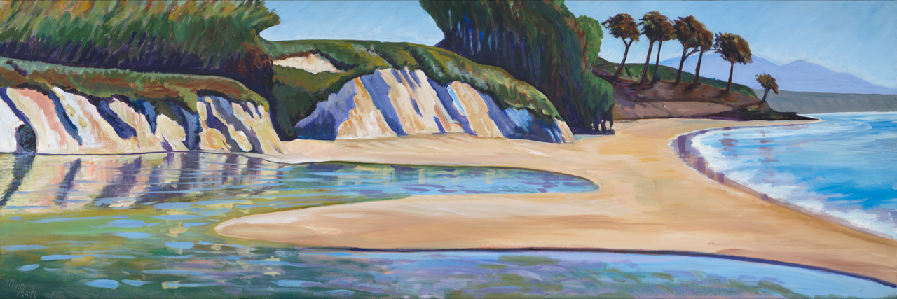 Goleta-Slough – Winter-Drought – 24″x30″ – Oil on Canvas