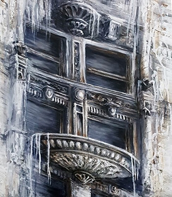 Dissolution-of-Structure_-Granada-theater_-Acrylic-by-Danuta-Bennett-350x400